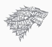 House Stark by sophiestormborn