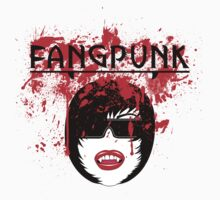 Blood spatter head darkness t shirt Fangpunk  by Fangpunk