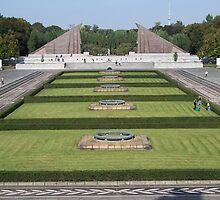 Soviet War Memorial of Berlin by CadburyKeepsake