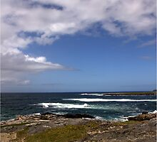 Barra Coastline by Maureen Anderson