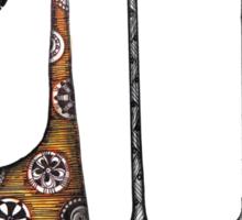 A giraffe named Kennett  Sticker