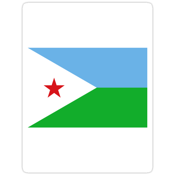 Djibouti Flag by cadellin