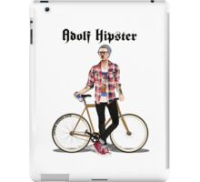 Adolf Hipster iPad Case/Skin
