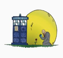 Rose & the Tardis by Skree