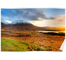 Loch Tulla - Scottish Highlands Landscape Poster