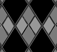 Black & Gray Checkers by mputrus