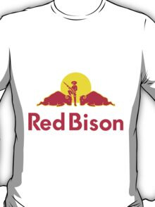Universal Unbranding - Red Bison T-Shirt