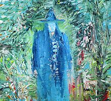 WIZARD IN THE GARDEN by lautir