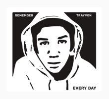 Remember Trayvon Every Day T Shirt by BroadcastMedia