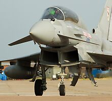 Eurofighter Typhoon 29(R) Sqn RAF Coningsby  by Clare Scott