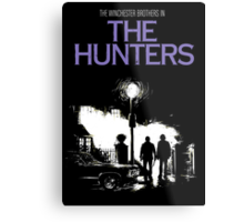 The Hunters (Supernatural & The Exorcist) Metal Print