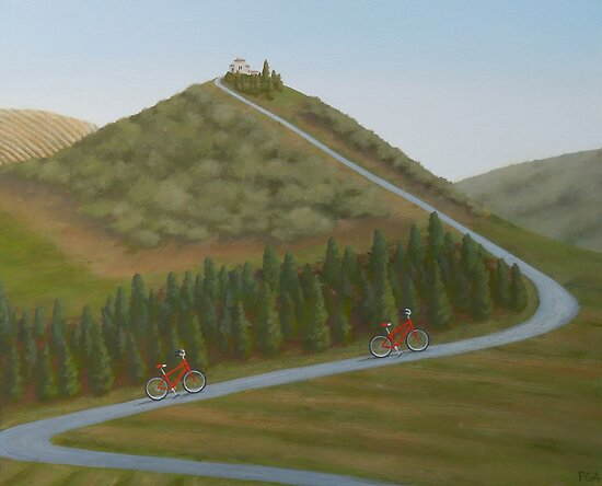 The Tuscan Challenge by PhyllisGAndrews