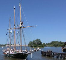 Denis Sullivan - Bay City (Michigan) Tall Ships - 2013 by Francis LaLonde