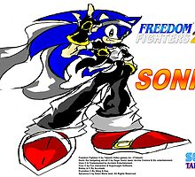 Sonic Freedom Fighters 2K3 Poster by TakeshiUSA
