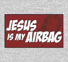 Jesus is my airbag (Sticker / T-Shirt) by vincepro76