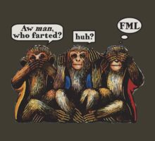 Smells Evil Monkeys by House Of Flo