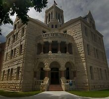Comal County Courthouse by Terence Russell