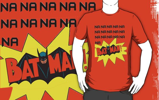 Batman Theme Song Shirt by TheTubbyLife