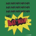 Batman Theme Song Shirt With PreSet Colour by TheTubbyLife