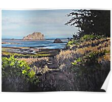 On the Coast Poster
