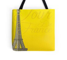 Tour De France Eiffel Tower Tote Bag