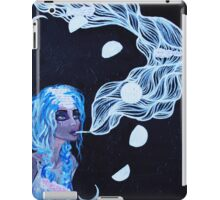 Original Acrylic Painting (It Must Be The Moon) iPad Case/Skin