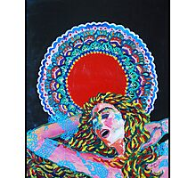 Original Acrylic Painting (A Dance For Sahasrara) Photographic Print