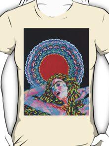 Original Acrylic Painting (A Dance For Sahasrara) T-Shirt