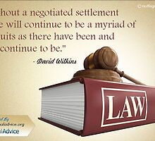 Quotographics on Negotiated Settlement by Infographics
