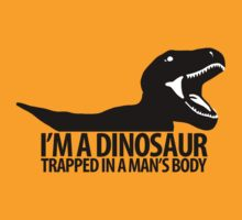 Dinosaur on the inside (Manly version) by UnsoundM