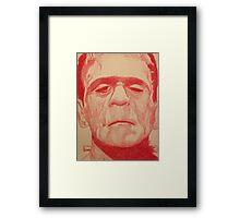 The Monster Framed Print