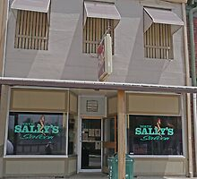 Dirty Sally's Saloon, Brunswick, Missouri, USA by Margaret  Hyde