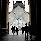 Going to the Louvre by Georgia Mizuleva