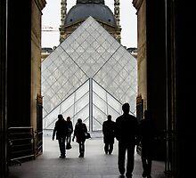 Going to the Louvre by Georgia Mizuleva