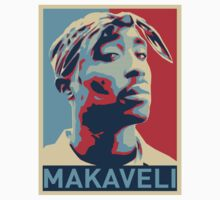 2pac Makaveli Hope Print by viperbarratt