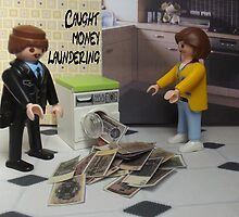 Money laundering by Caroline  Peacock