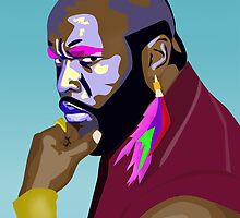 B. A. Baracus - Pop Art by ibadishi