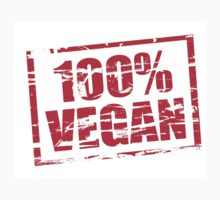 100% Vegan by stuwdamdorp