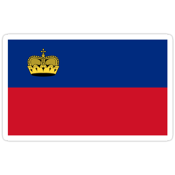 Liechtenstein Flag by cadellin