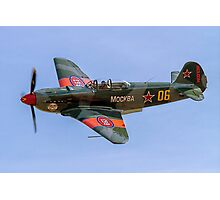 Yakovlev Yak-9UM yellow 06 HB-RYA Photographic Print