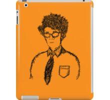 Giddy Goat Glasses iPad Case/Skin