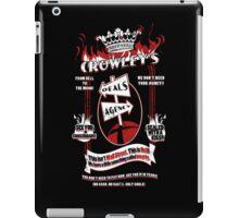 Crowley's Deals Agency iPad Case/Skin