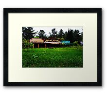 Western OutFitters Framed Print