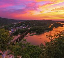 Historic View - Harpers Ferry, WV by Matthew Kocin