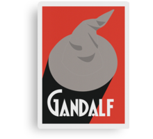 Biere Gandalf  Canvas Print