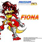 Fiona the Fox (Freedom Fighters 2K3) Poster by TakeshiUSA