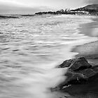 Laguna Beach Morning in BW by Chris Whitney