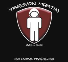 Trayvon Martin - No More Profiling by Samuel Sheats