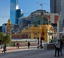 Federation Square  by rjpmcmahon