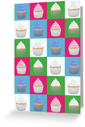 Cupcake Pattern by Adamzworld